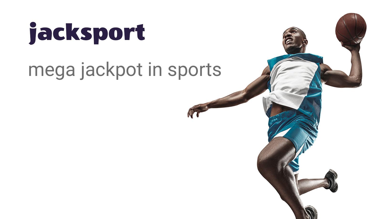 Jacksport mega jackpot in sports
