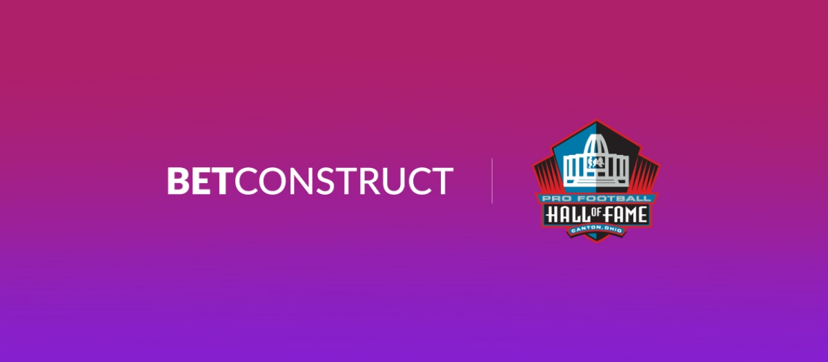 BetConstruct Announces Relationship with Pro Football Hall of Fame