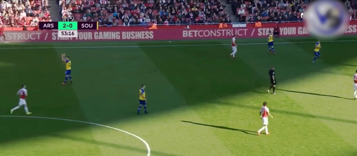 Arsenal - Southampton 2:0