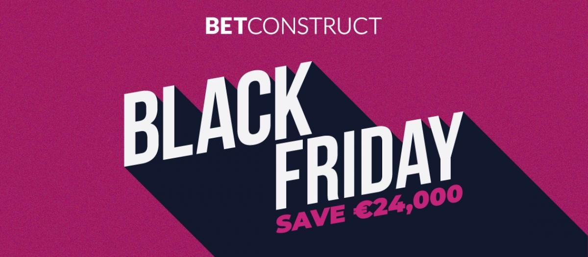 BetConstruct Announces Black Friday Promotion!