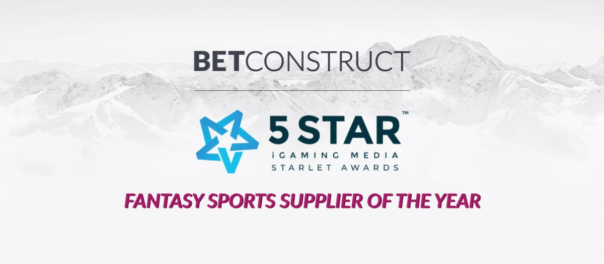 BetConstruct Is Best Fantasy Sports Supplier of 2018