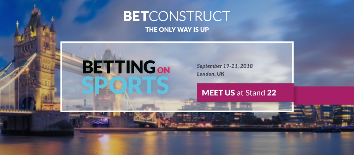 BetConstruct Attends Betting On Sports Conference