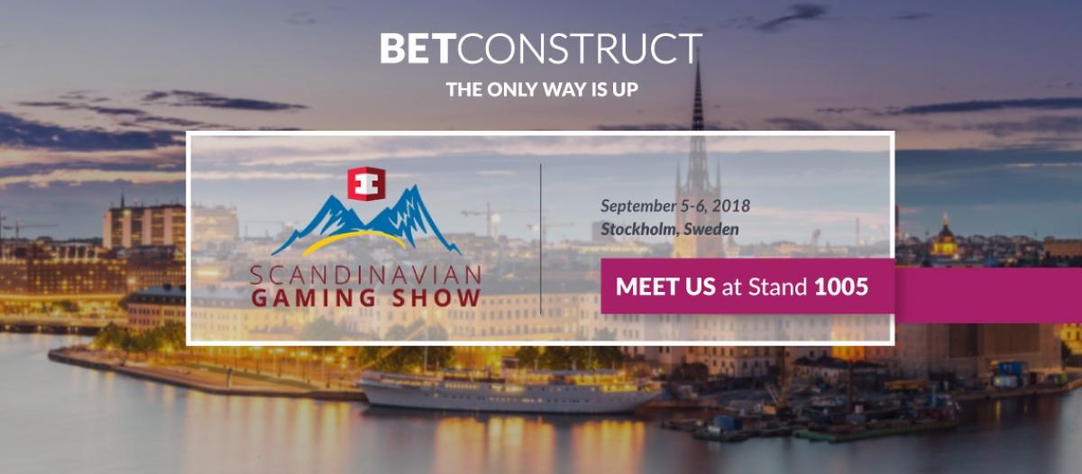BetConstruct Attends Scandinavian Gaming Show