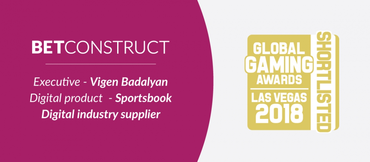 Vigen Badalyan Shortlisted in the Executive Category