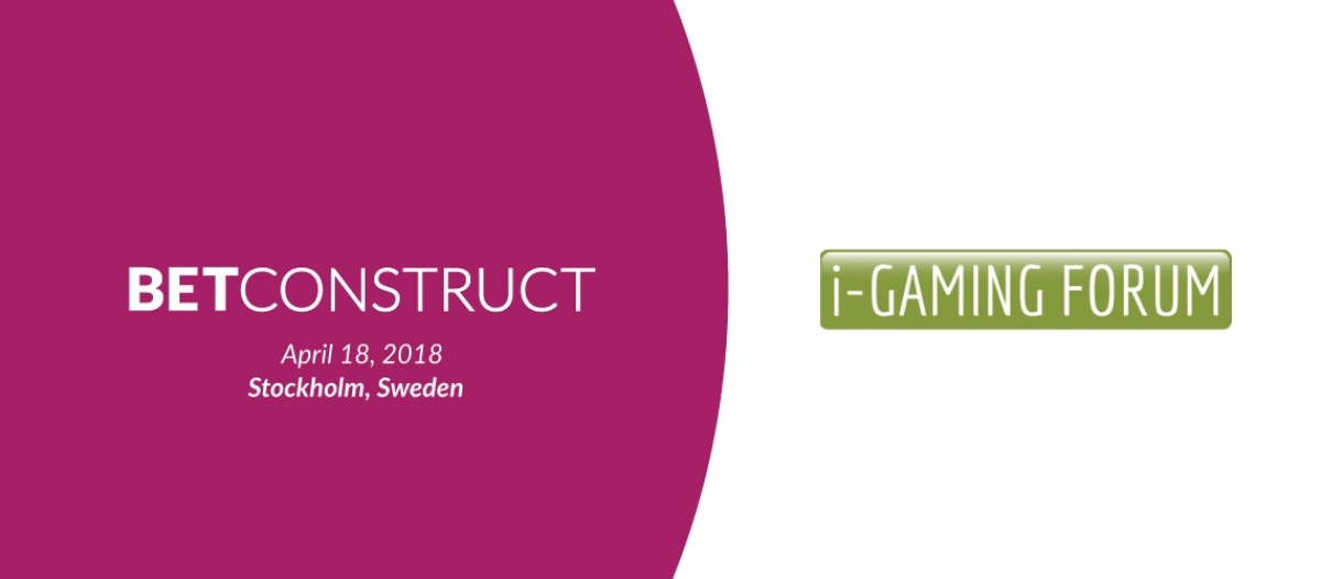 BetConstruct at iGaming Forum 2018