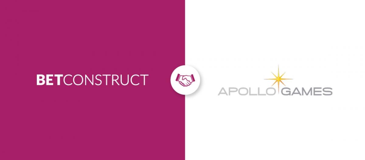 BetConstruct Integrates Apollo Games to Its Casino