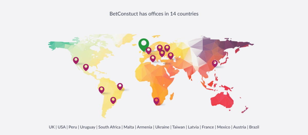 BetConstruct Opens Offices in France and Austria