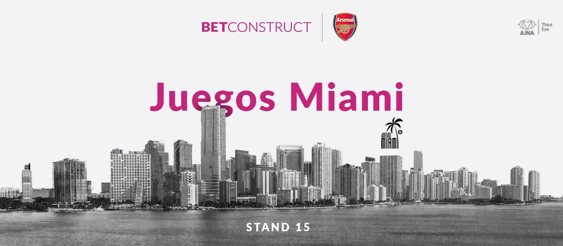 BetConstruct Showcases Talisman at Juegos Miami