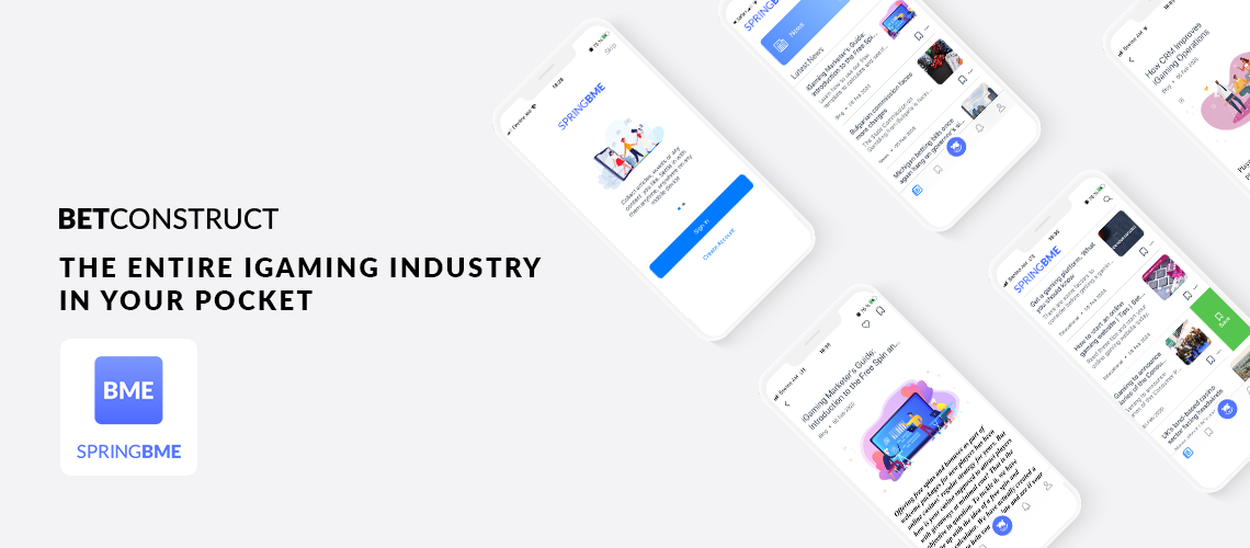 BetConstruct Puts the Entire iGaming Industry into your Pocket