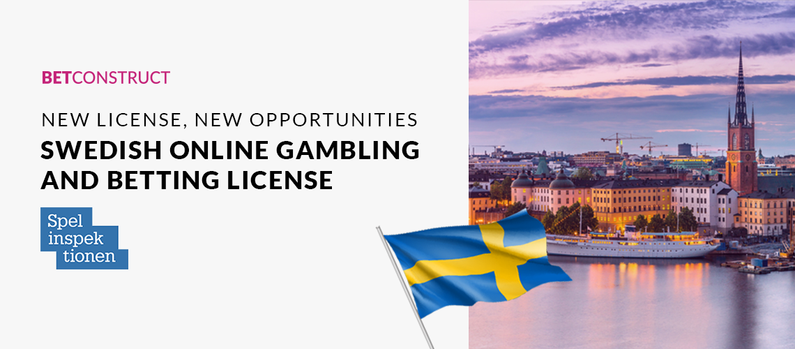 BetConstruct Awarded Swedish Online Gambling and Betting License