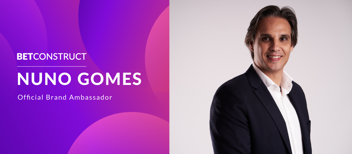Nuno Gomes Joins BetConstruct and FeedConstruct as Latest Brand Ambassador