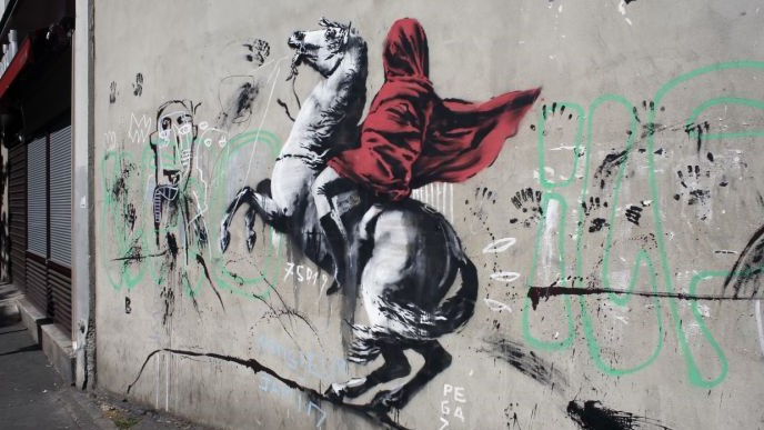 Will Banksy be fined by french authorities?