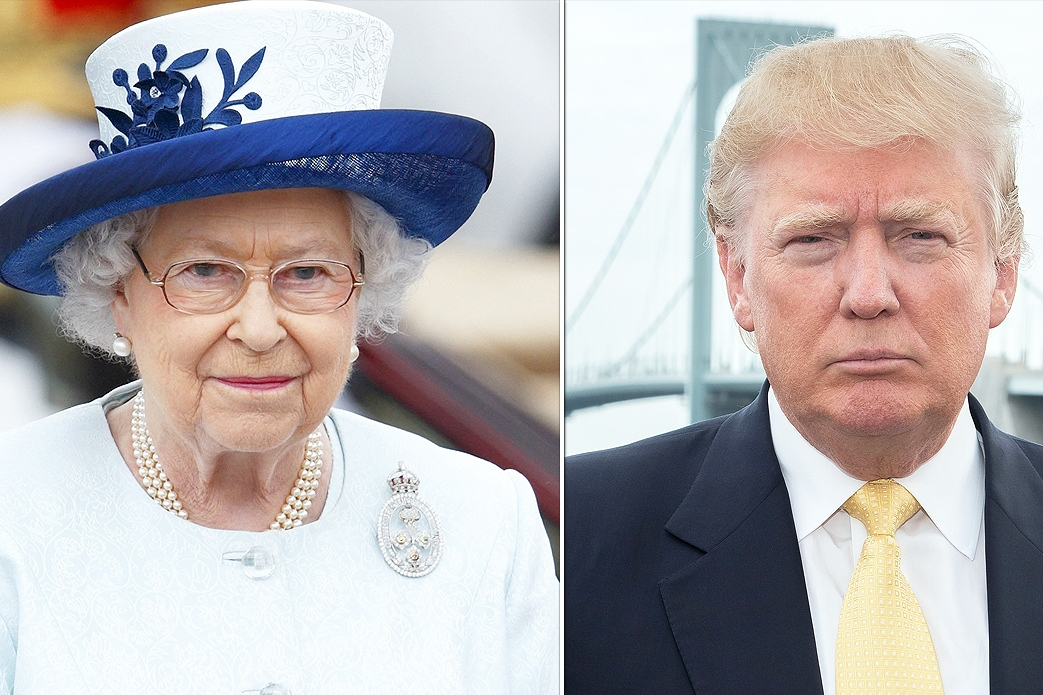 Trump is set to meet the queen. Here's what he shouldn't do.