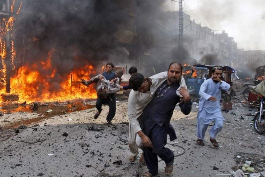 Will any terrorist organization take responsibility for bombing in Pakistan?