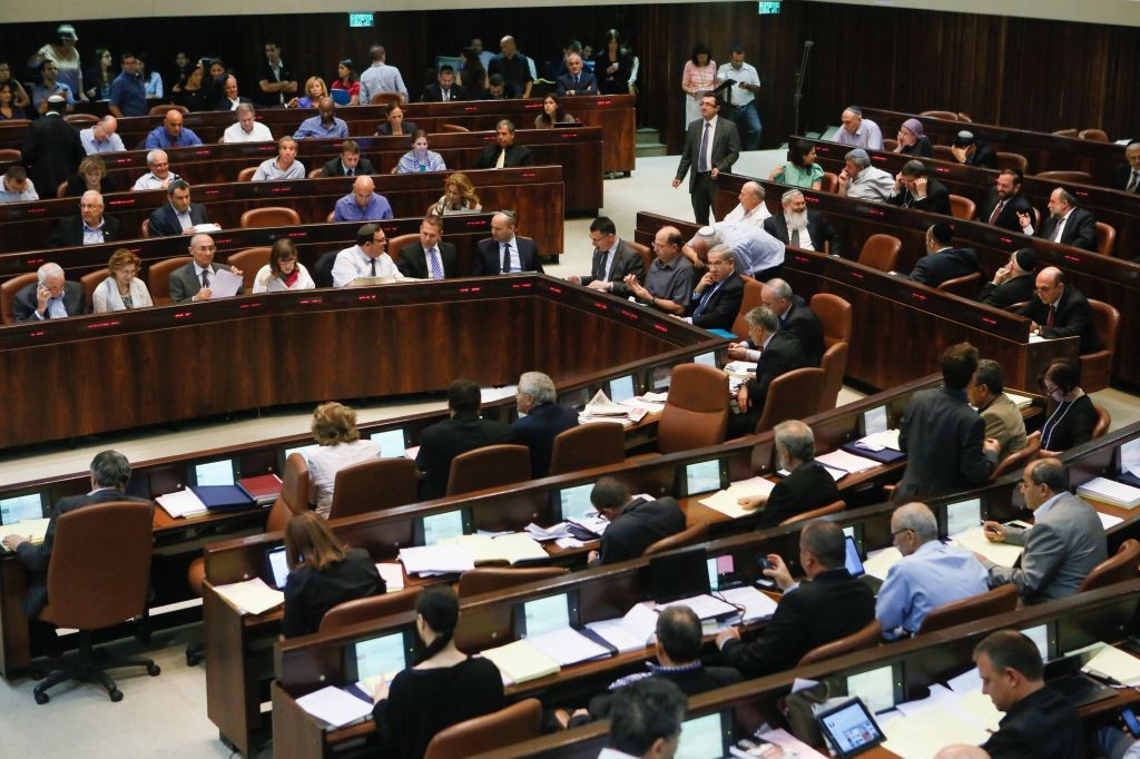 Will Human Rights offices organize protests in Israel against Knesset passed law?