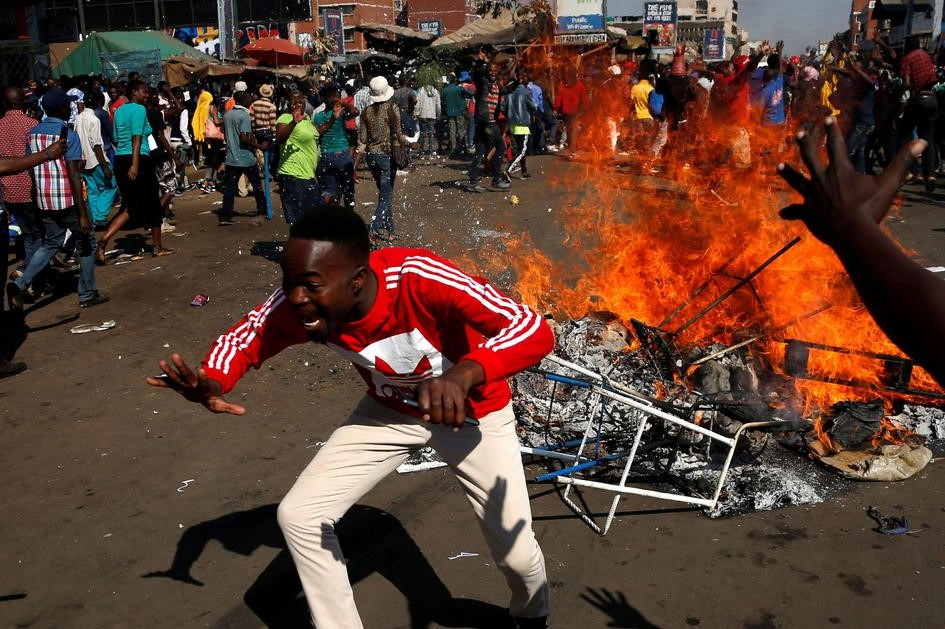 Will EU condemn using of violence in Zimbabwe?