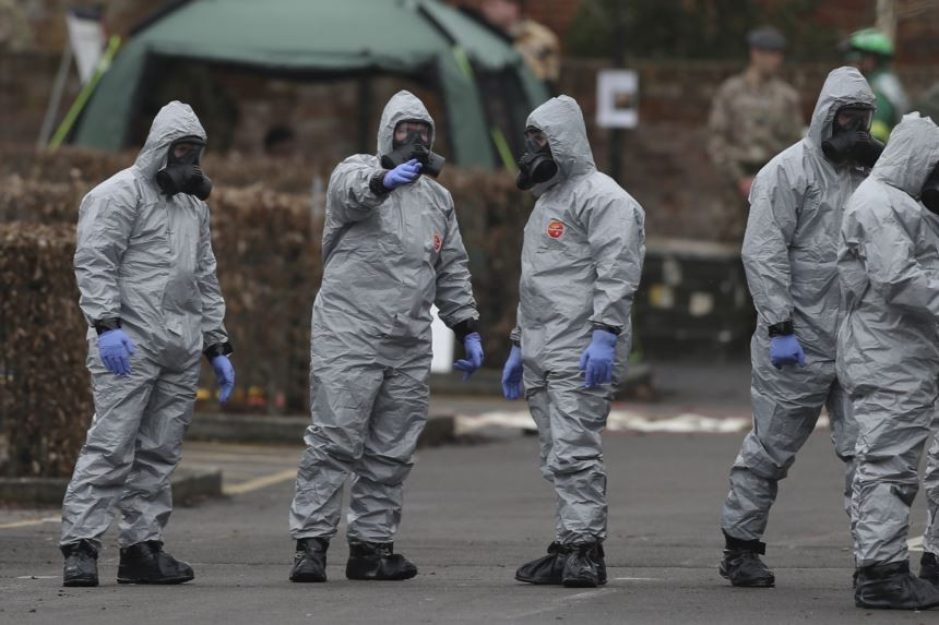 Will UK ask Russia to extradite suspects in nerve agent attack?