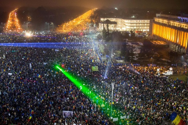 Will protest rally continue in Romania until Friday?