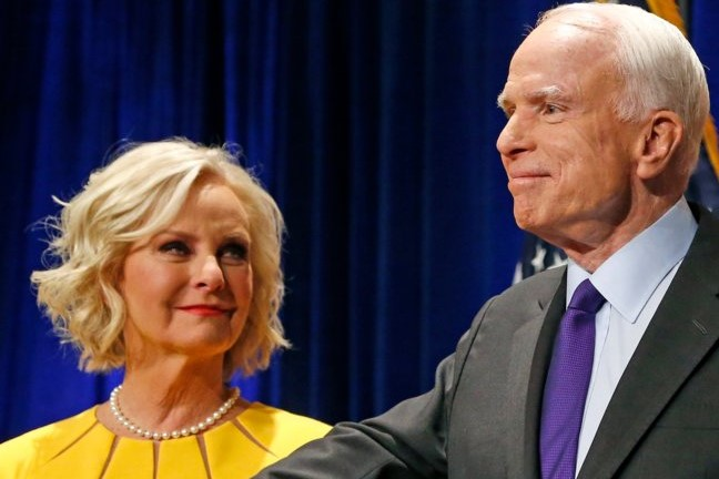 Will Cindy McCain be appointed as John McCain's congressional successor?