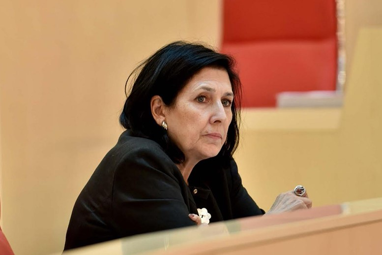 Will Salome Zurabishvili be elected as new president of Georgia?
