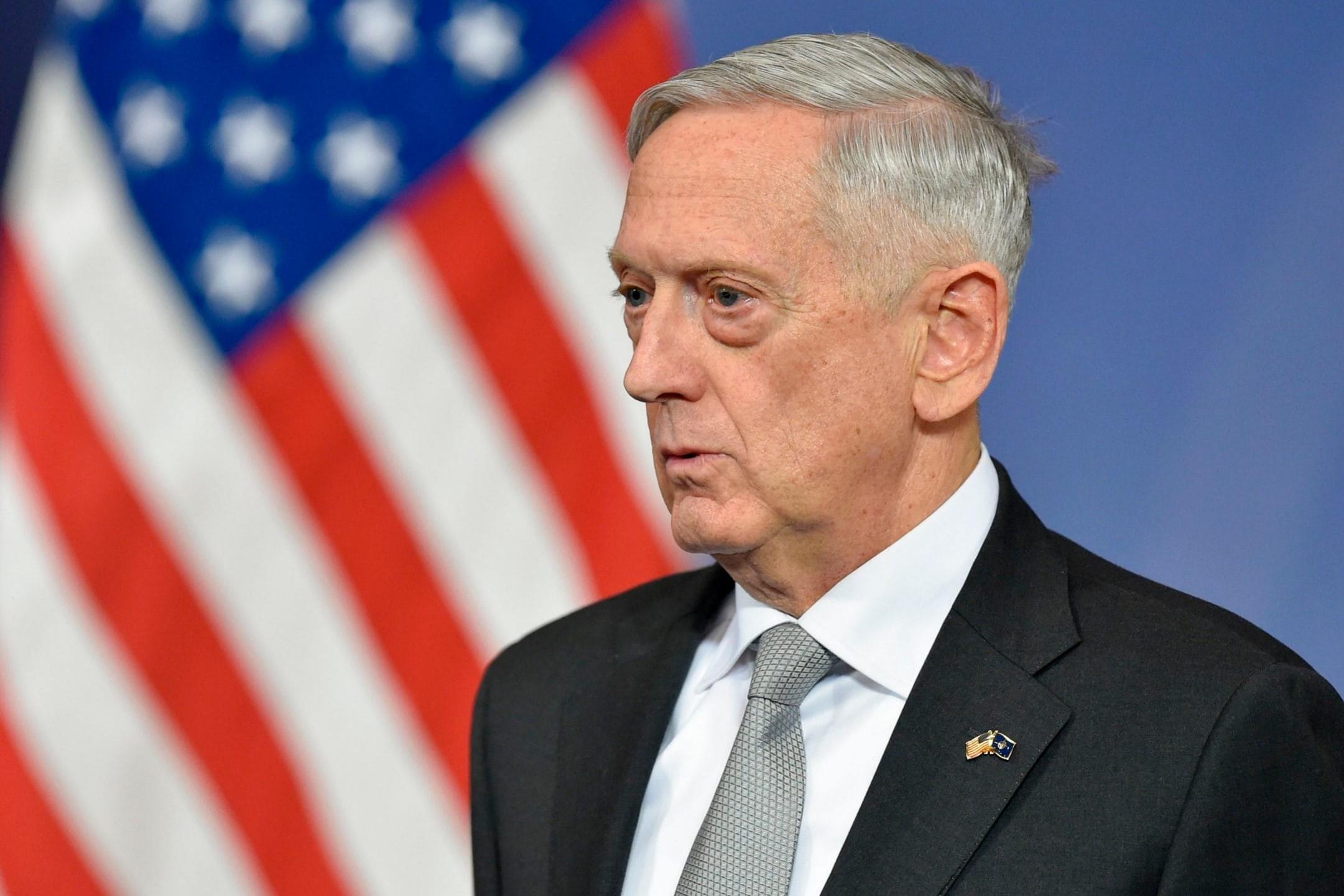 Will James Mattis leave the post of Defense Secretary?