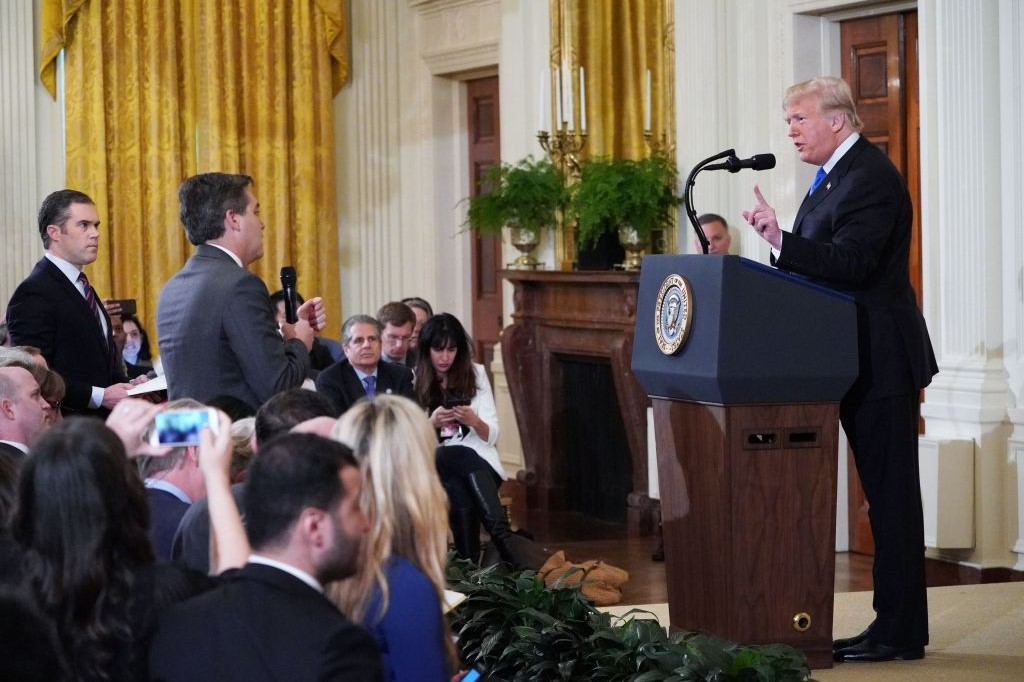 Will the White House reverse Jim Acosta's press access suspension?