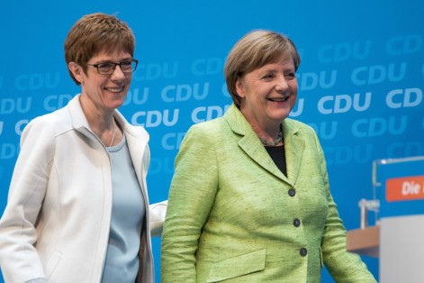 Will Annegret Kramp-Karrenbauer be chosen as the next CDU leader?