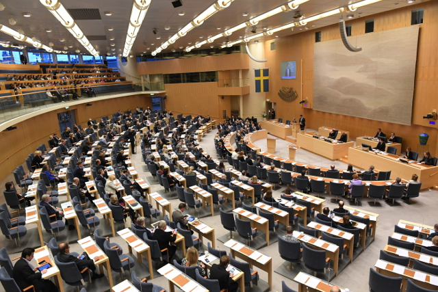 Will the Swedish parliament approve the coalition?