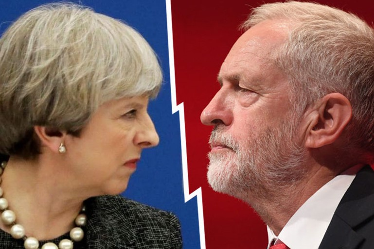 Will Jeremy Corbyn apologize to Teresa May for calling her 'stupid woman'?
