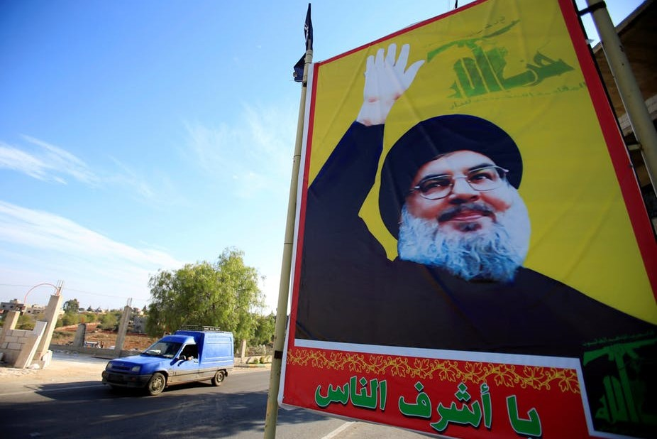 Will UK add the political wing of Hezbollah to its list of banned ''terrorist'' organizations?