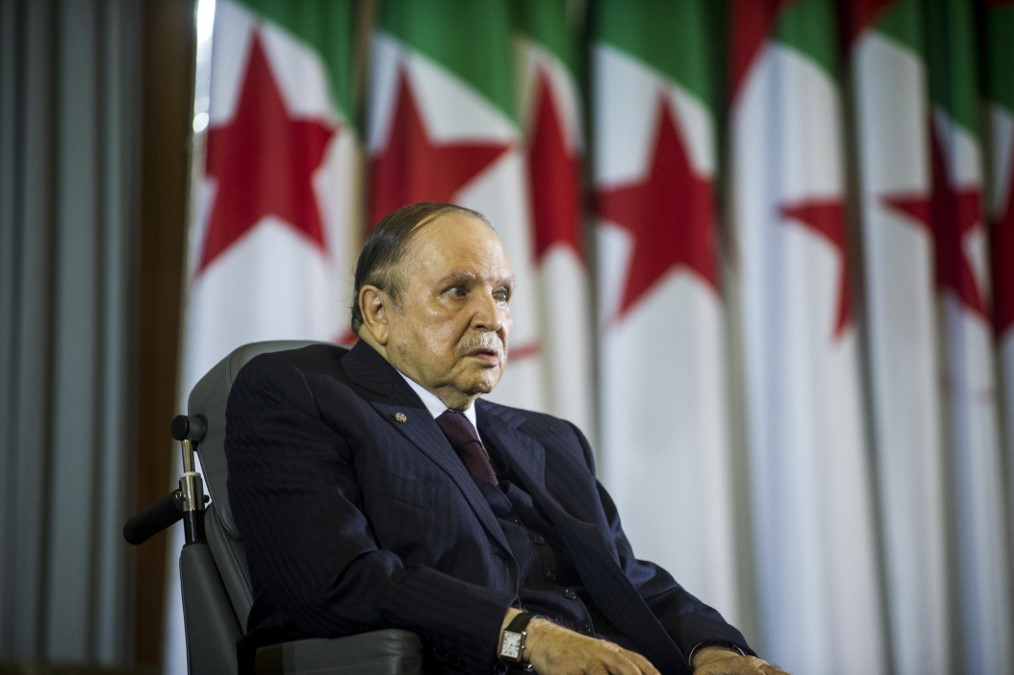Will Algeria's president drop the bid for the 5th term over protests?