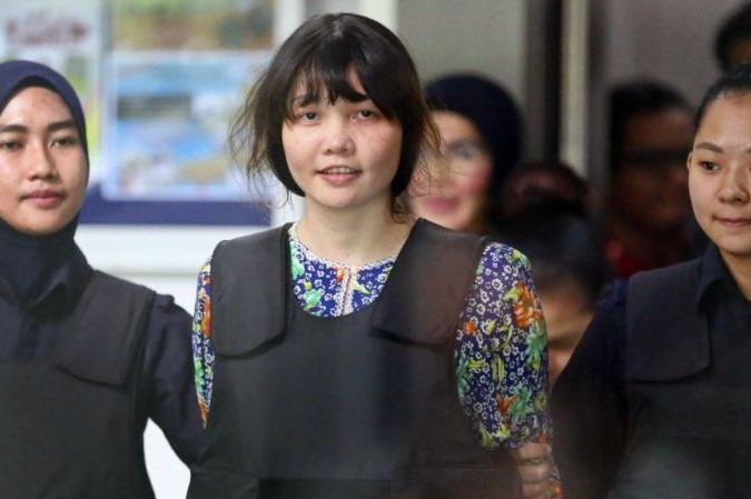 Will Doan Thi Huong be released after the trial on Thursday?