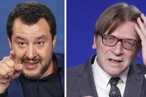 Will Salvini accept Verhofstadt's debate challenge?
