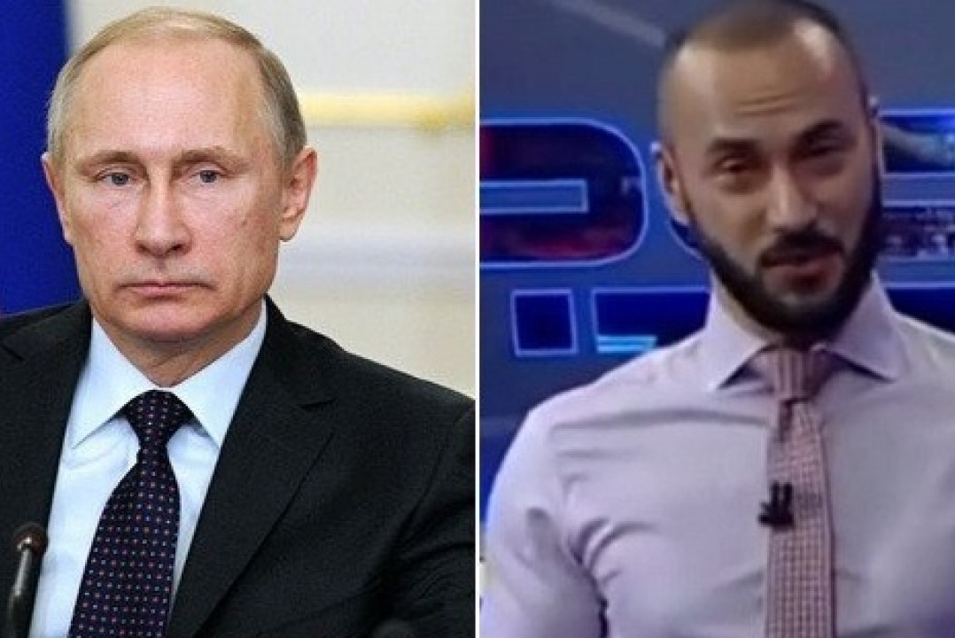 Will Rustavi 2 TV anchor's Georgi Gabunia apologize to Putin?