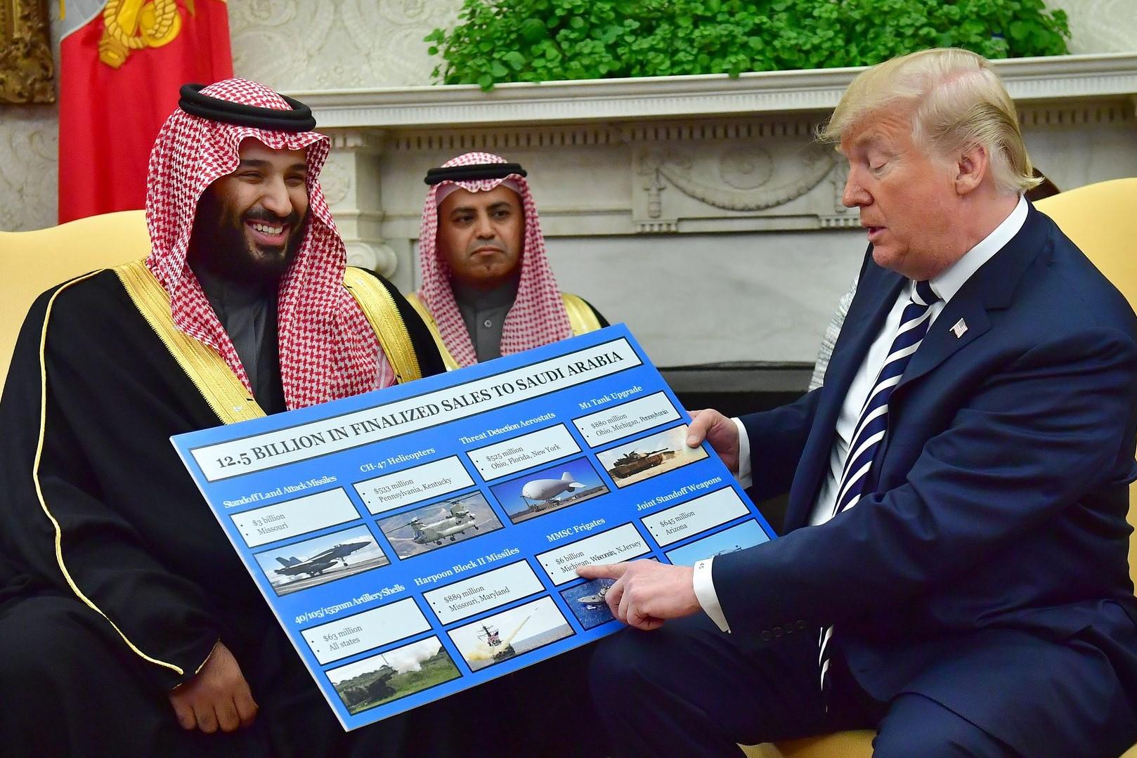 Will US Senate neglect  Trump's veto on Saudi arms sales?