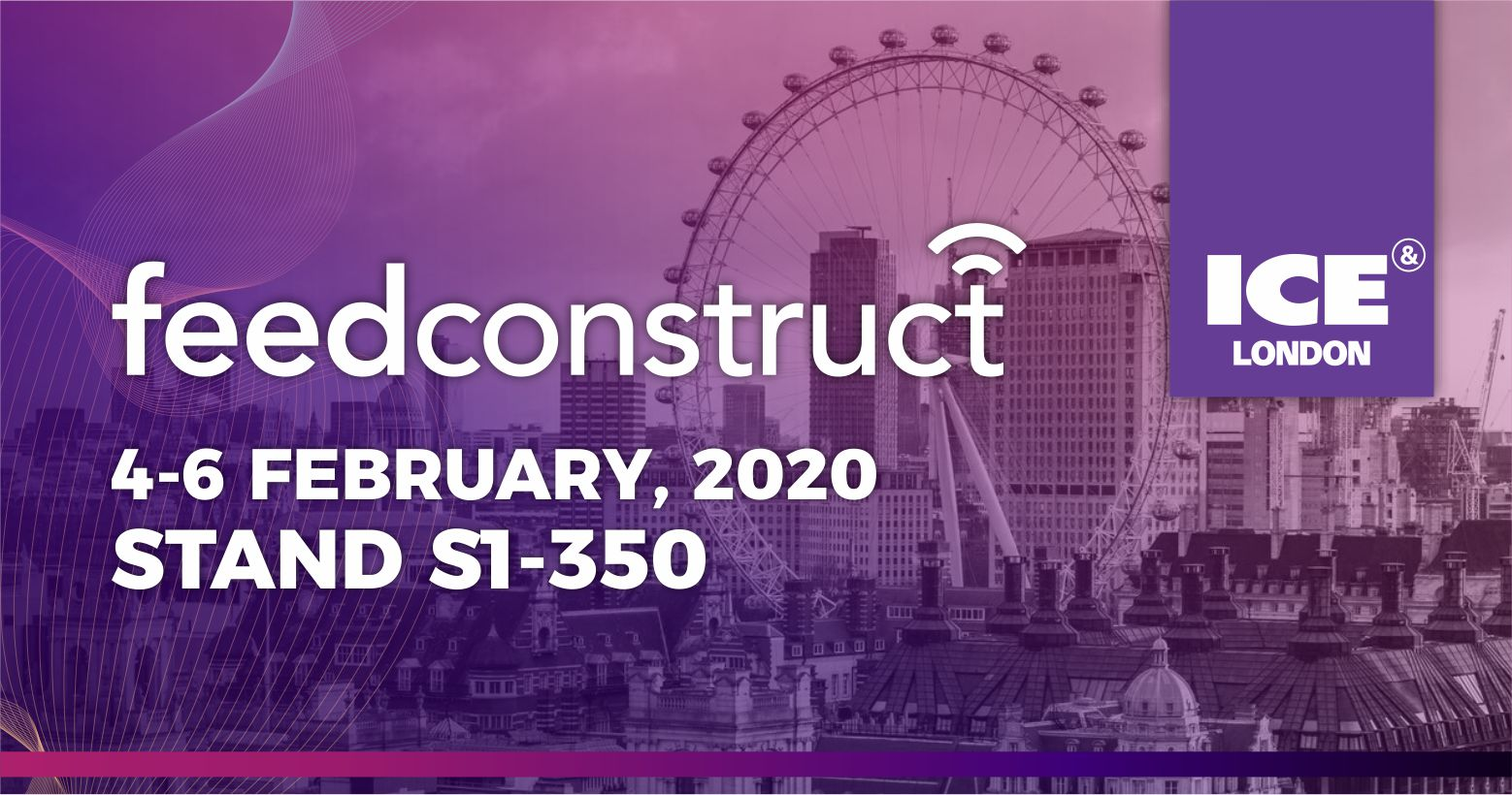 FeedConstruct Presents Sports Data from East and West at ICE 2020