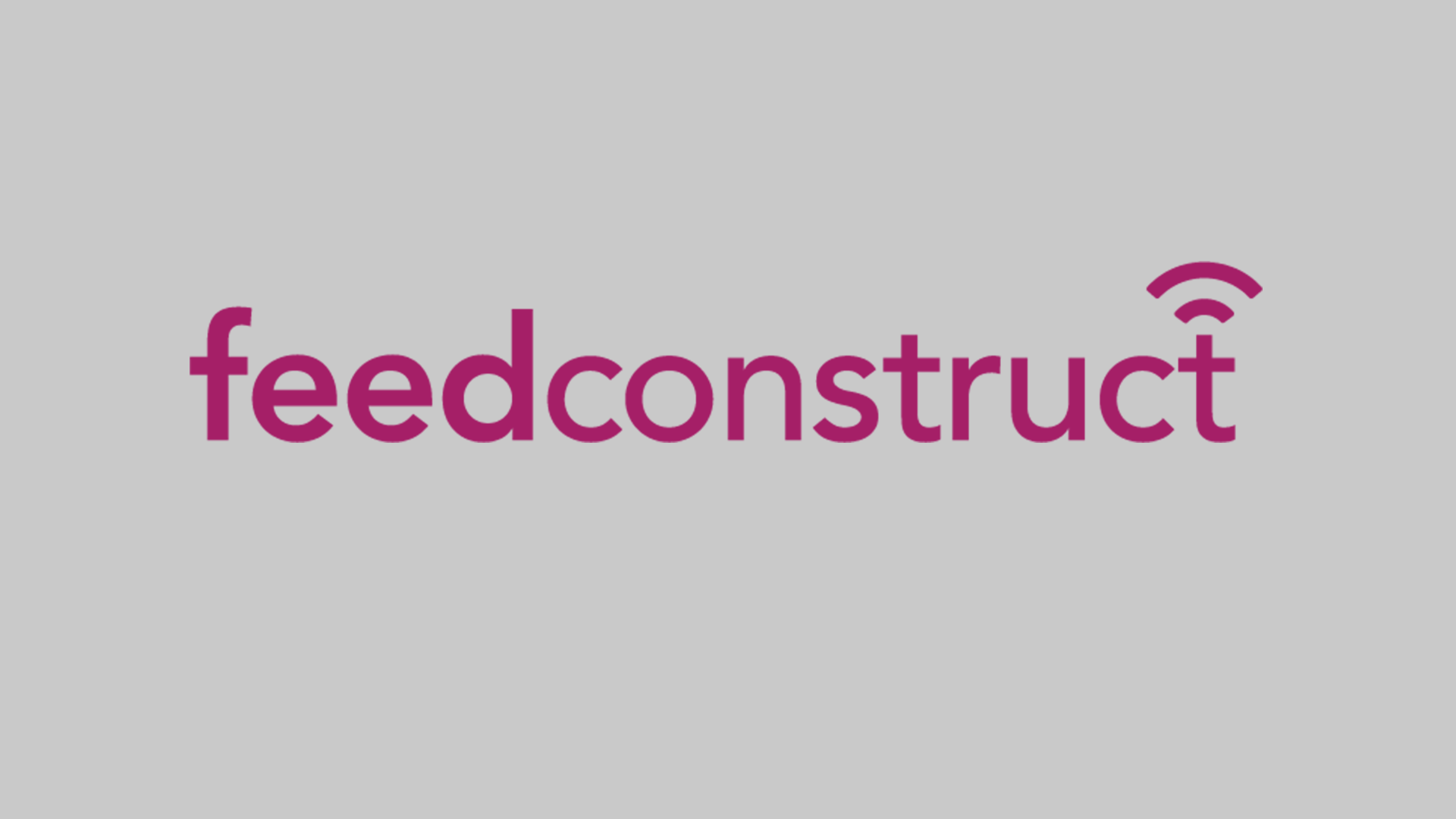Megafeed rebranded as FeedConstruct