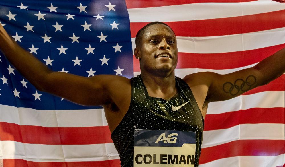 Christian Coleman - worth watching athlete durin Doga 2019 World Championships