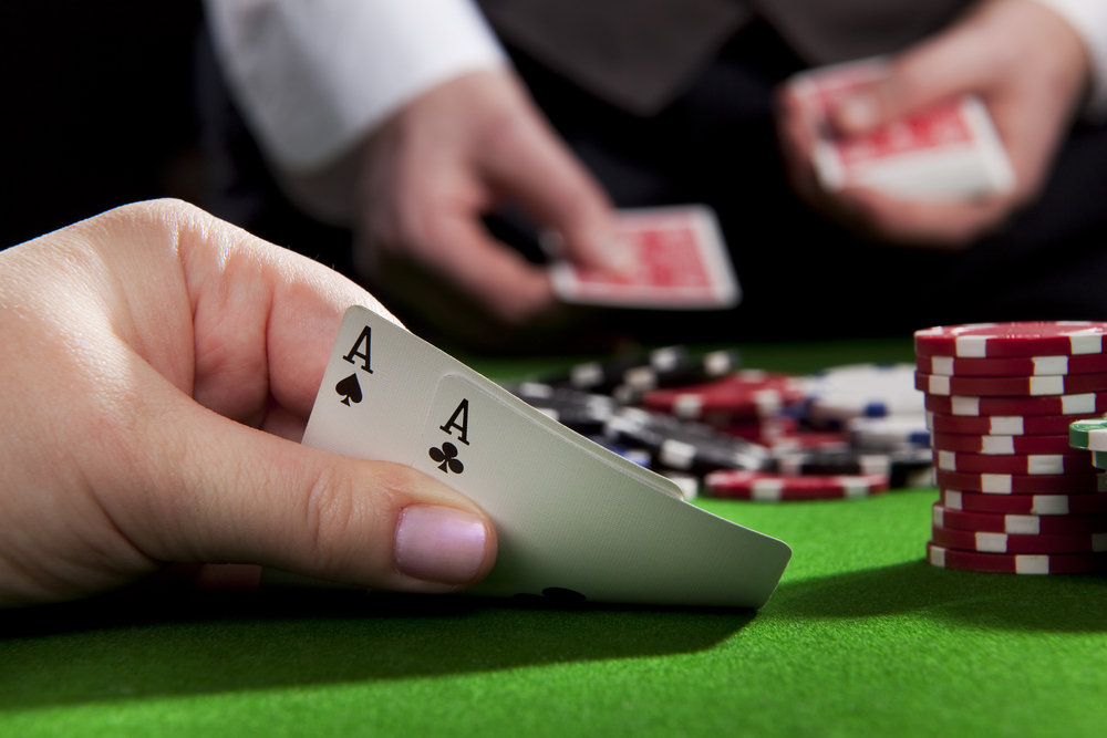 Texas hold'em - one of the poker variations