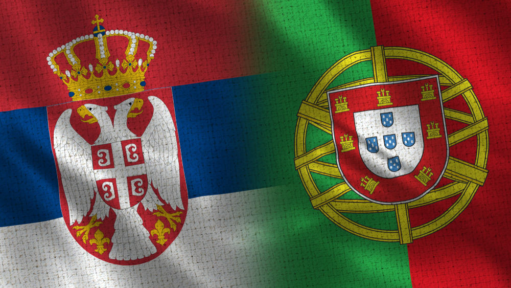 EURO 2020 qualification - Serbia vs Portugal