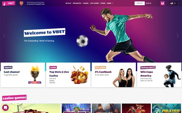 VBET | Official Betting & Gaming Partner of Arsenal Football Club - VBET