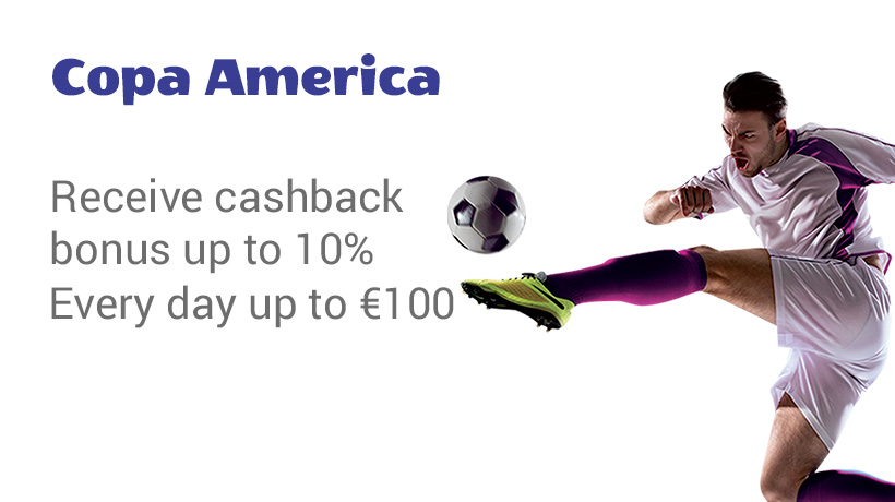 Cashback Copa America
