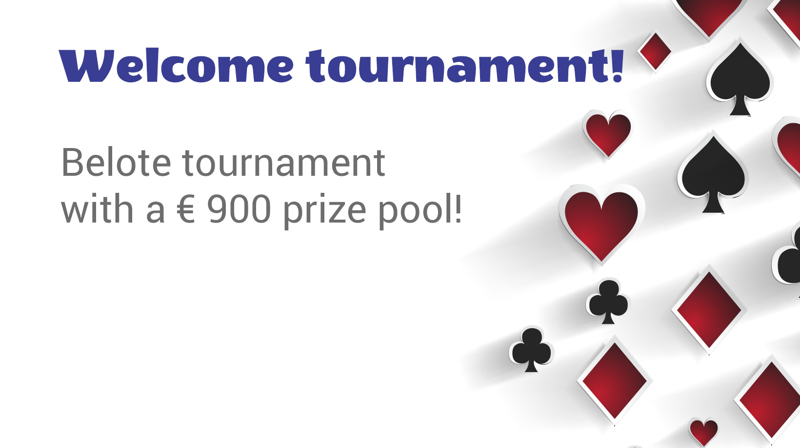 Welcome tournament