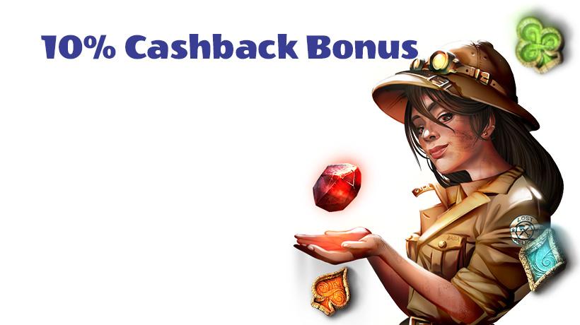 10% Cashback Bonus