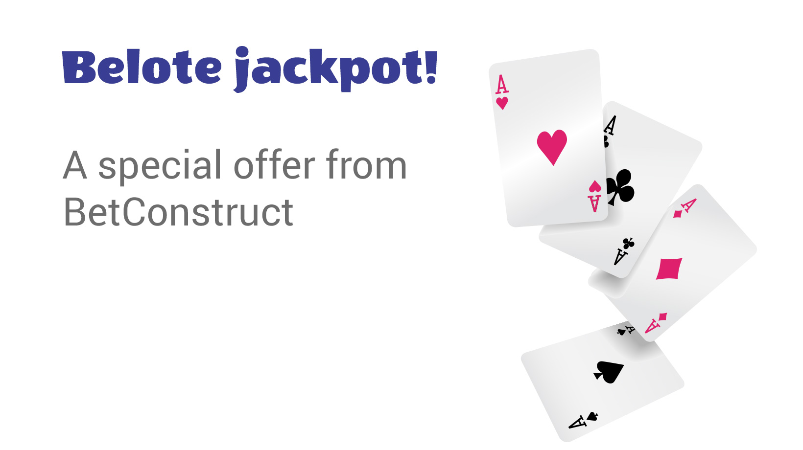Belote Jackpot A special offer from BetConstruct