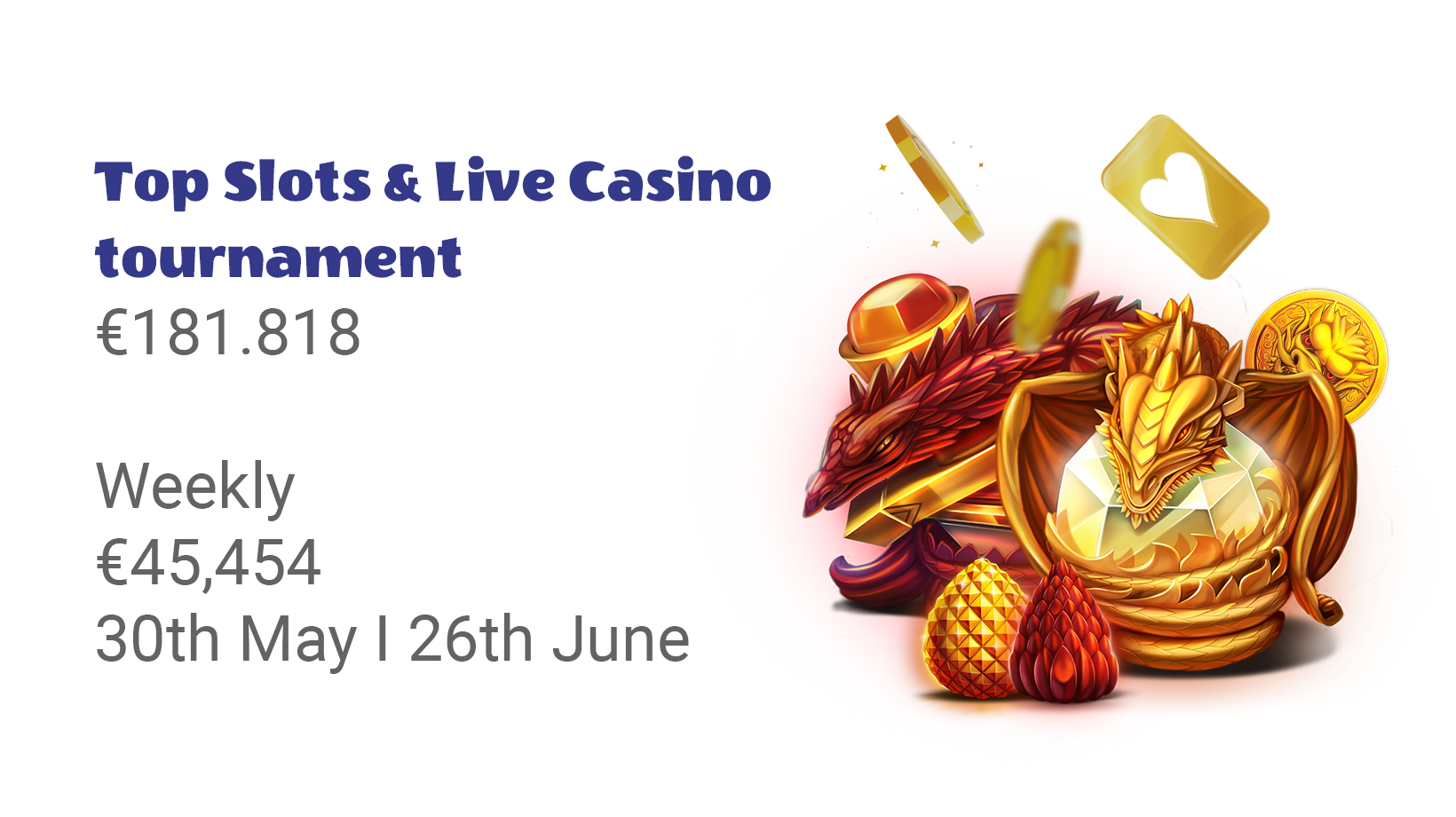 Top Slots & Live Casino Weekly Tournament