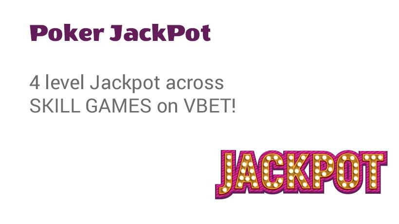 Poker Jackpot A special offer from BetConstruct