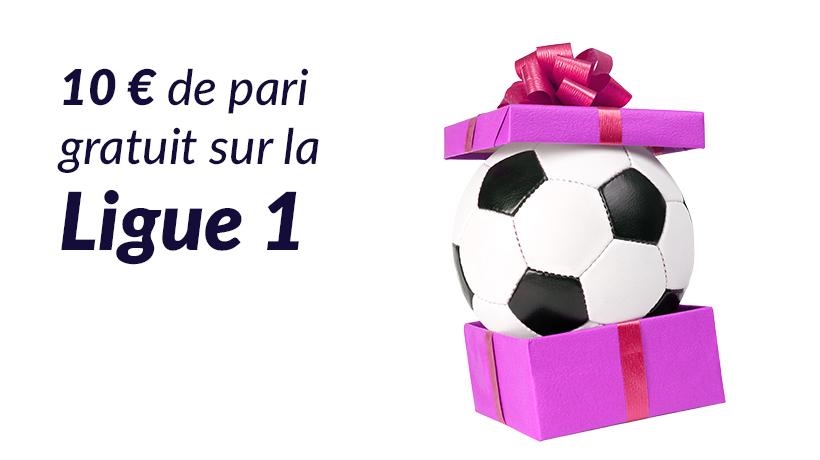 10 € de pari gratuit sur la Ligue 1