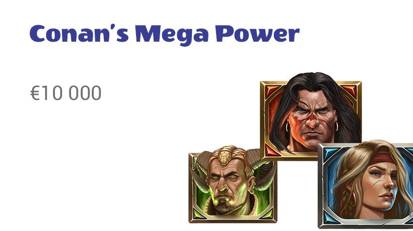 Conan's Mega Power